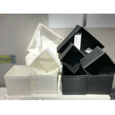 Ikea 6er Set Boîtes de Rangement Skubb Regaleinsätze Chaque 2x en 3 Tailles Noir