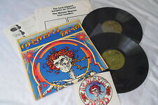 GRATEFUL DEAD 1971 1st Press_LIVE DEAD_Original DBL LP__BONUS STICKER__2WS-1935