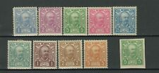 Kingdom of Montenegro 1902 ☀ Mi 41-49 + imperf ☀ MNH