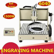 1.5Kw 3Axis Vfd Cnc Router 6040 Engraving 3D Cutter Carving Milling Machine Top