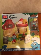 Mega Bloks Smurfs 'Papa Smurf's House' Building Playset-New in Packaging