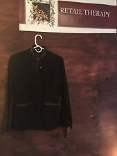 NWT Farida 100% Leather Jacket Black Size 42/8
