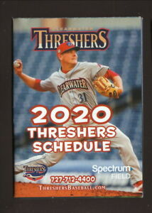Clearwater Threshers--2020 Pocket Schedule--Phillies Affiliate