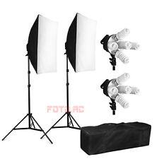 1900W Foto Fotostudio Softbox Studioleuchte Studiolampe Tasche Lampenstativ Set