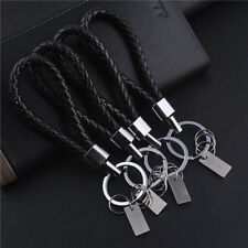 Fashion Car Auto Men Leather Key Chain Ring Keyfob Car Keyring Keychain Gift 1PC