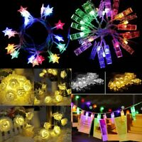 Romantic Fairy Star LED String Lighting Holiday Wedding Garland Party Decoration