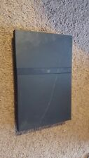 Sony PlayStation 2 (PS2) Slim Console Charcoal Black untested for parts as is