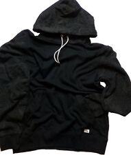 NWT Quiksilver Ascot Hood Pullover Long Sleeve Black Hoodie    Medium    P15