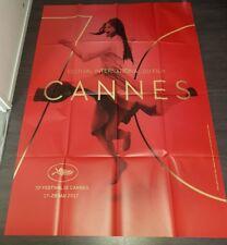 "Affiche cinéma originale 120 x 160 "" Festival de Cannes 2017"" Claudia Cardinale"