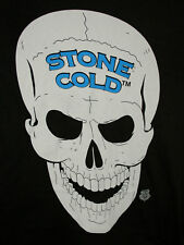 Stone Cold Steve Austin #:16 WWE Wrestling Black T-Shirt New Tags Sz Small