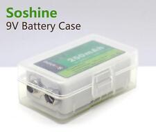 New Soshine 9V Battery Box Battery Case