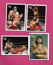 1990 CLASSIC WWF WRESTLING  CARD LOT  (INV# C2239)