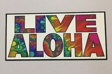 Aloha Sticker - Hawaii Surf Beach Surfing Tropical Islands Maui Kona Kauai