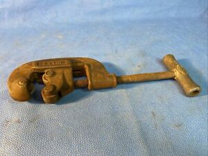 Rigid No. 1 And 2 Heavy Duty Pipe Cutter Tool 1/8 to 1 1/4 inch Pat. No 1888980