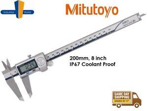 Mitutoyo Absolute Coolant Proof IP67 Digital Caliper 8 inch 0-120mm 500-753-20