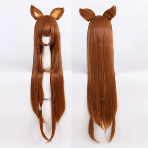 Tate no Yuusha no Nariagari Raphtalia Rafutaria Cosplay Wig + 2 Eears + Wig Cap