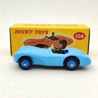 1/43 DeAgostini Dinky Toys 104 Aston Martin DB3S Blue Diecast Models Collection