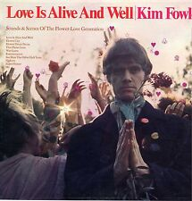 "KIM FOWLEY ""LOVE IS ALIVE AND WELL"" ORIG US 1966 SEALED"