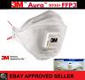 3M™ Aura™  Atemschutzmaske 9332+ FFP3 FFP 3 I mit Ventil & Filter I Mundschutz