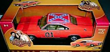 "DUKES of HAZZARD 1969 DODGE CHARGER  ""GENERAL LEE"" 1:18  DIE CAST MOVIE CAR"