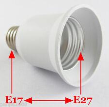 50x E17 Male To E26/E27 Lampholder Bulbs Converter Candelabra Light Base Socket