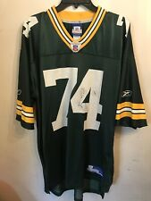 Aaron Kampman - Green Bay Packers jersey - Reebok Men's Large Size