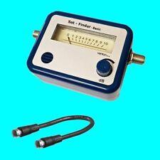 Satfinder SAT Finder Messgerät Satelliten-Finder Dishpointer digital Einfach
