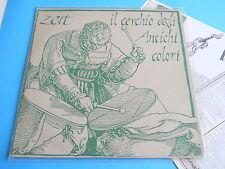 LP ITALIAN PROG ZEIT - IL CERCHIO DEGLI ANTICHI COLORI - INNER - ORIGINALE