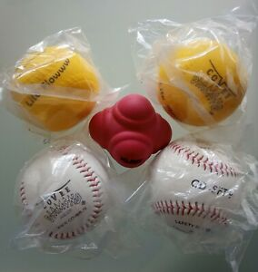 Baseball Trainingsbälle (Set of 5) - ideal für das Training im Garten!
