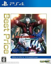 Devil May Cry 4 Special Edition Best Capcom Sony Ps4 Playstation Japanese