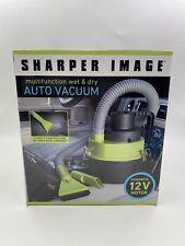 Sharper Image Portable Multi-Function Wet & Dry Auto Car Vacuum 12 V New .