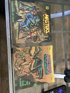 Masters Of The Universe Comics, Caverns Of Fear, Castle Gray skull, Mint.