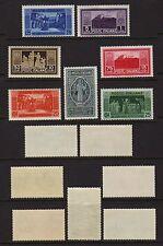 ITALY 1929 Abbey of Monte Cassino Mint **  Sc.232-238 (Sa.262/268)