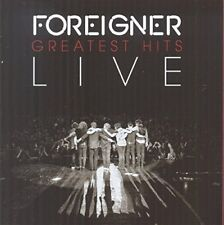 Foreigner Greatest Hits Live CD NEW