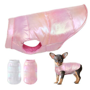 Waterproof Small Dogs Winter Clothes Puppy Cat Warm Coat Jacket Chihuahua Vest