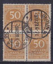 Dr im nº 275 4er bloque, Vandersanden. sectores 03.10.1923, párr dt. rico, used