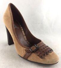 Carlos Santana Women's Size 8.5M Brown Heels Pumps Classics Shoes x101