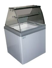 4 Facing Dipper Ice Cream Dipping Cabinet 6.4 Cu Ft Excellence Hbd-4Hc New #9671