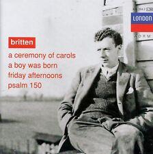 BRITTEN : A CEREMONY OF CAROLS - A BOY WAS BORN / CD - TOP-ZUSTAND