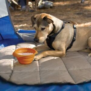 Kurgo Collapsible Bowl Orange For Dogs & Puppies Travel/Outdoor/Walking