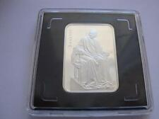 BIELORUSIA: 20 Rublos plata 2011 proof  THE VOLTAIRE  (BELARUS)
