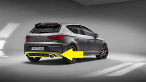 Genuine Seat Leon Cupra R Hatchback 17>> Rear Bumper Diffusor  5F0071611