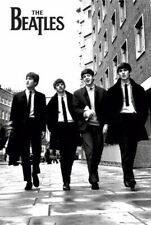 THE BEATLES WALKING IN LONDON  POSTER, size 24x36