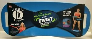 As Seen on TV- Simply Fit Board - with workout DVD - BLUE