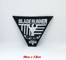 Blade Runner Rep Detect Embroidered Iron Sew on Patch #1196