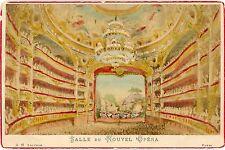 Photo cabinet salle du nouvel Opéra Garnier Paris Hand tinted