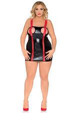 Mini-Damenkleider im Gothik-Stil mit Trägern für Clubwear-Anlässe