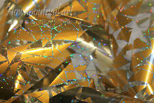 """""""Golden stained glass"""" Transfer Nail Foil - 1 Meter"""