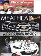 Mazda MX-5 Racing  Autographed  Hero Card Lot IMSA / WC