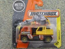 Matchbox 2017 #051/125 MBXcavator orange jaune MBX Construction étui D